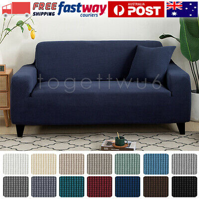 AU19.99 • Buy Super Stretch Sofa Cover Couch Lounge Protector Slipcovers 1/2/3 Seater Covers