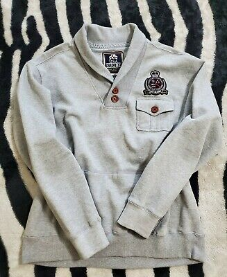 $31.95 • Buy USA Rugby Shawl Collar 2 Button Sweater Pullover Men's Size 3XL