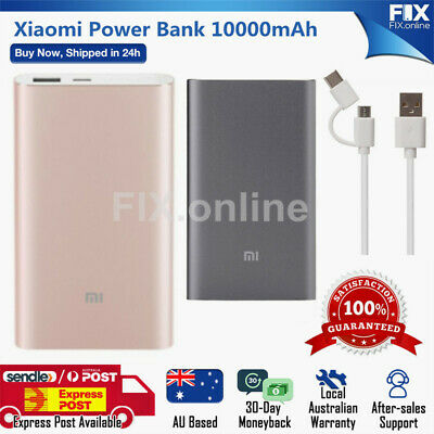 AU44.98 • Buy Xiaomi Power Bank Pro 10000mAh Quick Battery Charger For IPhone Android Phones