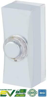 £6.25 • Buy BG Wired Polished Chrome Door Bell Push Button MDCPB3