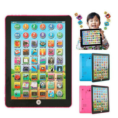 £7.29 • Buy Baby Tablet Educational Toys Kids For 1-6 Years Toddler Learning English Gift A+