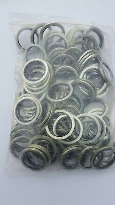 """£16 • Buy 3/4"""" BSP / 1  Imperial Dowty Washers Pack Of 100"""