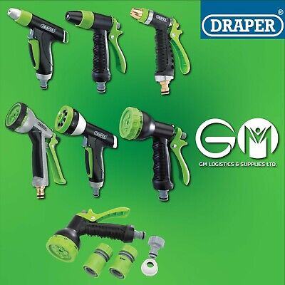 £6.99 • Buy HOZELOCK Draper Quick Connection Hose Pipe Attachment Watering Spray Guns