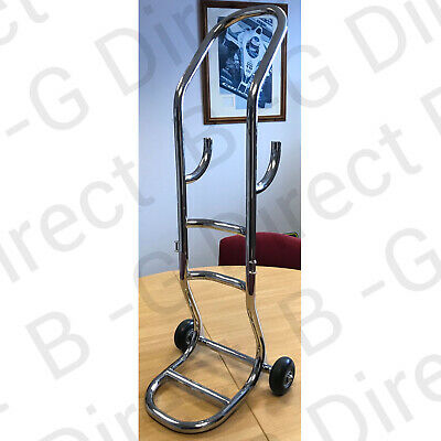 £200 • Buy B-G Single Air Bottle Trolley For 15Litre Dive / Gas Cylinders - Stainless Steel
