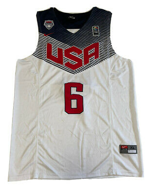 £45 • Buy USA National Team Basketball Jersey NBA #6 Rose By Nike Size-XL NLV