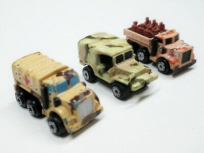 $13 • Buy Micro Machines Military Cargo Troop Transport M-37 Light Cargo Truck - Lot Of 3