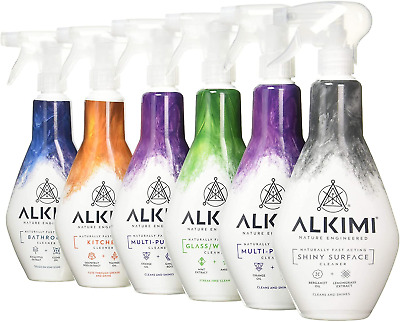 £23.05 • Buy ALKIMI Variety Pack, Contains 2 X Multi-Purpose Cleaner, 1 X Bathroom Cleaner, 1