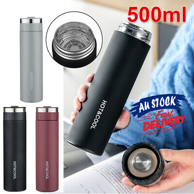AU19.59 • Buy Thermos Stainless Steel Insulated Vacuum Portable Cup Water Mug Tea Bottle