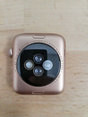 $ CDN123.37 • Buy Apple Watch Series 3 42mm Gold Aluminum Cellular ICloud For Parts Good LCD