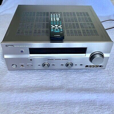 £76.99 • Buy Yamaha Natural Sound AV 7.1 Amplifier DSP-AX759 SE With Remote - Tested/Working