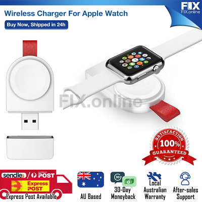 AU7.89 • Buy Brand New Mini Magnetic USB Charger Charging For Apple Watch Series 1 2 3 4 5 6