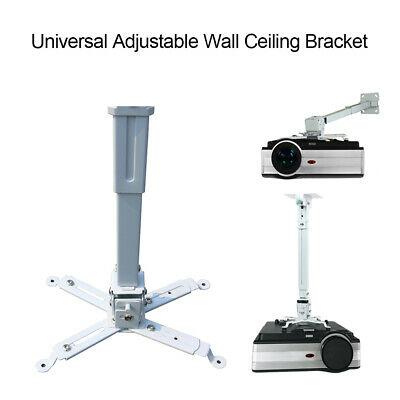 AU38.99 • Buy 44lb Projector Bracket Universal Wall Or Ceiling Mount For Home Office Projector