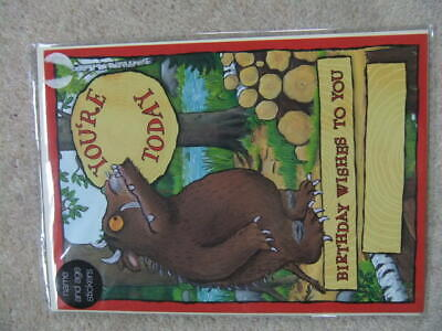 £3.49 • Buy NEW M&S GRUFFALO CARD Personalise By Adding Name & Age Using Stickers