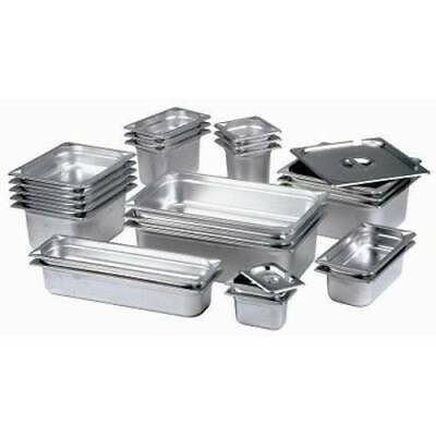 £10.92 • Buy Stainless Steel Gastronorm Pan Gastro Container Tray Bain Marie Food Pot Lid