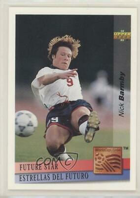 £12.94 • Buy 1993 Upper Deck World Cup 94 Preview English/Spanish Future Stars Nick Barmby