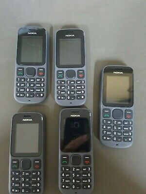 £28 • Buy Job Lot 5 X Nokia 100 -  (Virgin Mobile) Mobile Phone - Fully Working & Tested