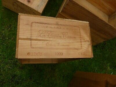 £17.95 • Buy  1 X French 12 Bottle Large Wooden Wine Crate / Box  Planter  Hamper Storage