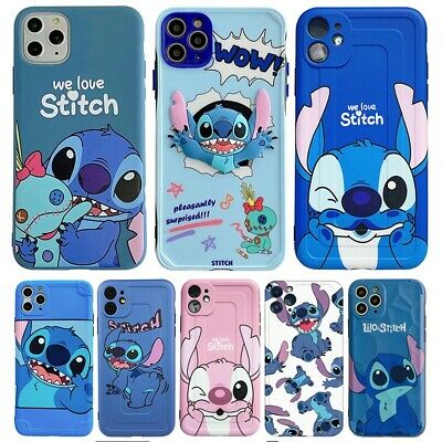 £0.99 • Buy  For Apple IPhone 12 Pro 8plus XS MAXCartoon Lilo And Stitch Cover Case Cover