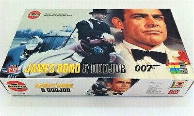 £50 • Buy  Airfix 1:12 Scale Unmade Plastic Kit Of The James Bond & Oddjob From Goldfinger