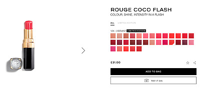 £17 • Buy Chanel Rouge Coco Flash New Various Shades Bargain 3g