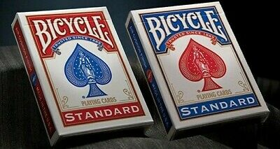 £4 • Buy ONE WAY FORCE DECK - Genuine Bicycle Rider Back Playing Cards For Magic Tricks