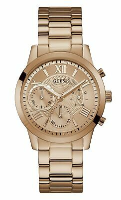 $ CDN103.52 • Buy Guess Womens Analogue Classic Quartz Watch With Stainless Steel Strap W1070L3