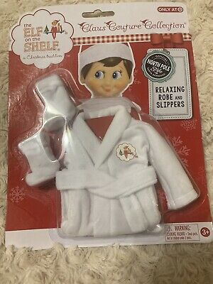 AU45.41 • Buy The Elf On The Shelf Relaxing Robe And Slippers Claus Couture Collection