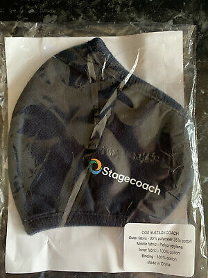 £5 • Buy * Stagecoach Bus Face Mask ~ Bus Transport Collectable ~ Navy Blue ~ Brand New *