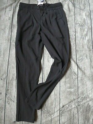 £16.63 • Buy TOM TAILOR Trousers Cloth Pants Black With Rubber Band (304) New