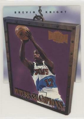 £8.55 • Buy 1997 Metal Universe Championship Preview Future Champions Brevin Knight Rookie