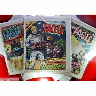 £10.62 • Buy Eagle COMIC BAGS-SLEEVES AND BOARDS For UK British Comic  Issues X10