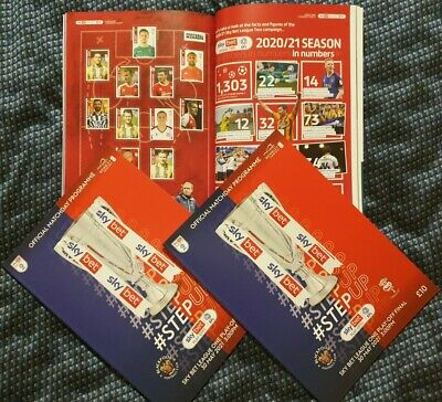 £17.49 • Buy Blackpool V Lincoln City League One Play Off Final 30/5/21 Programme Buy Now