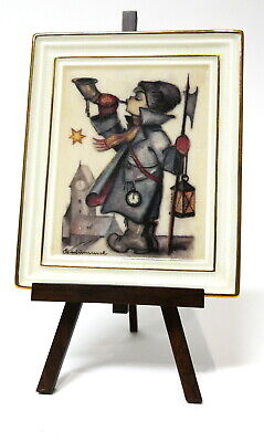 $24.95 • Buy The M. J. Hummel Gallery Town Crier Plaque & Easel 4 1/8  H X 3 3/8