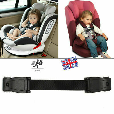 £4.99 • Buy Car Safety Seat Harness Strap Anti Escape Chest Clip Buggy NO THREADING
