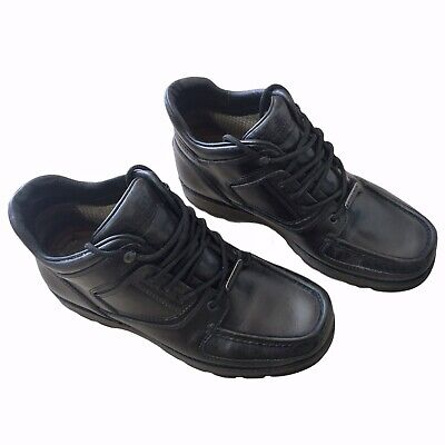 £90 • Buy Rockport Umbwe Boots XCS Black Trail Leather UK 8 Made In Portugal Rare