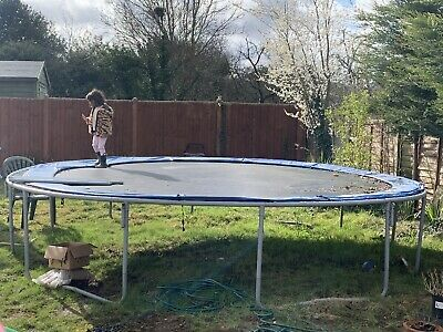 £199 • Buy Upper Bounce 16 Feet Trampoline Bought For £500 Comes With Net Enclosure