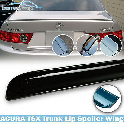 $ CDN44.94 • Buy Painted Color #B92P Nighthawk Black Fit For Acura TSX 1st 4D Trunk Lip Spoiler