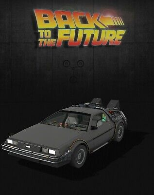 $49.99 • Buy DeLorean Time Machine Back To The Future NFT (Common) Veve Digital   SOLD OUT