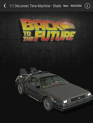 $99.99 • Buy VEVE NFT DeLorean RARE #23550/25000 Back To The Future | Sold Out | See Descripr