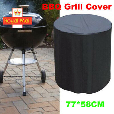 £6.89 • Buy 23*30   Waterproof Round Kettle BBQ Grill Barbecue Cover Outdoor Garden Patio UK