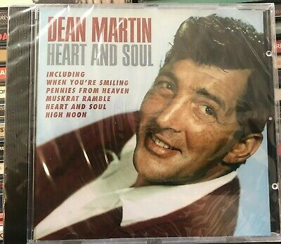 £8.99 • Buy DEAN MARTIN Heart And Soul CD NEW FACTORY SEALED