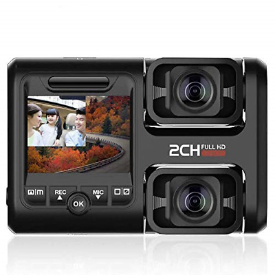 AU112.32 • Buy Dual Dash Cam 1080P Front And Rear For Cars Support 128GB DVR Dash Camera With