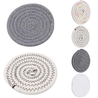 AU7.63 • Buy Washable Dining Table Mats Woven Placemats Napkin Environmentally Cup Coaster SL