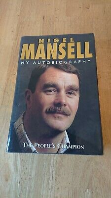 £10 • Buy Nigel Mansell My Autobiography Signed Copy