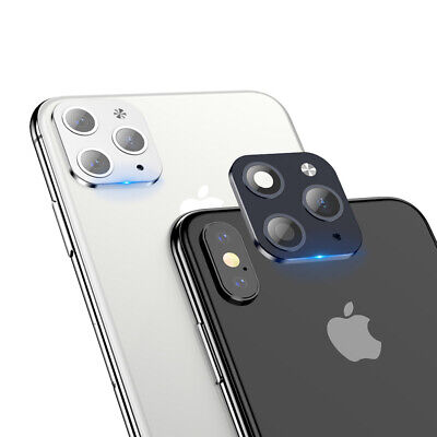 £2.88 • Buy Metal Lens Sticker Protector Fake Camera IPhone X Change To IPhone 11 Pro Max UK