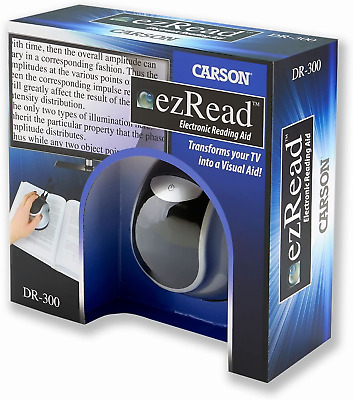 £129.37 • Buy Carson DR-300UK EzRead Electronic Reading Aid Digital Magnifier With TV Output,