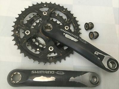 $59.95 • Buy Shimano FC-M445 Triple Crank 170mm 44/32/22T Octalink Hollowtech With Bolts