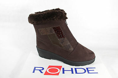 £73.66 • Buy Rohde Women's Boots Ankle Boots Winter Boots Braun Sympatex New