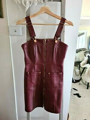 AU190 • Buy Alice Mccall Cherry On Baby Leather Dress - Size 6