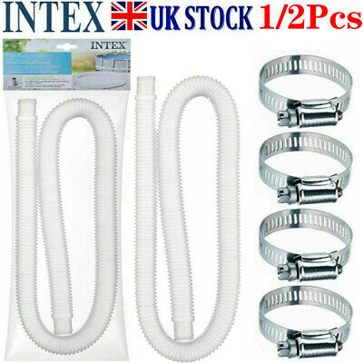 £13.99 • Buy Intex Accessory Hose 32mm Swimming Pool Pipe X 1.5m For Pump/Filter/Heater